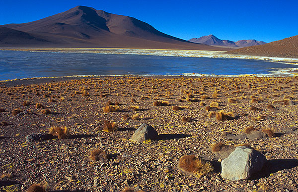 Laguna Polques s termálním pramenem