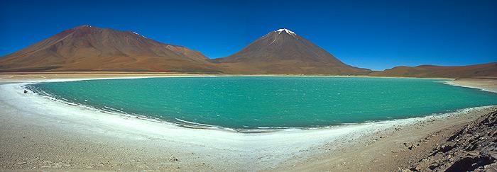 Laguna Verde - panorama