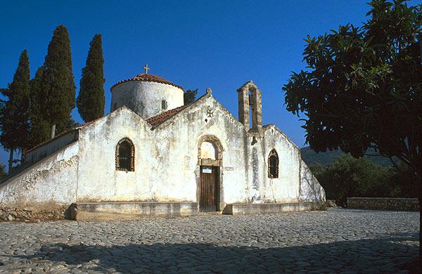 Panagia Kera - byzantský kostel