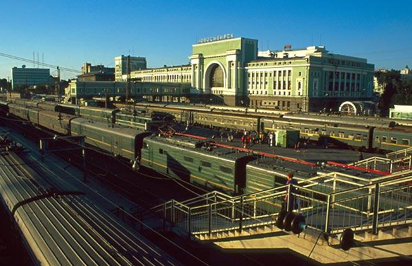 Nádraží Novosibirsk
