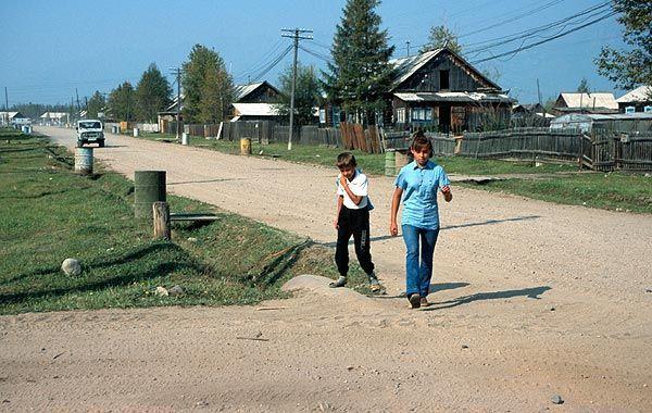 Děti na ulici Staré Čary