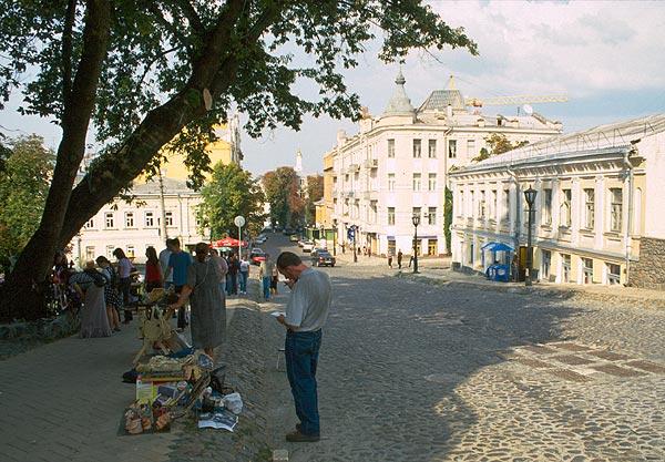 Andrijvskij uzviz, ulice v centru Kyjeva