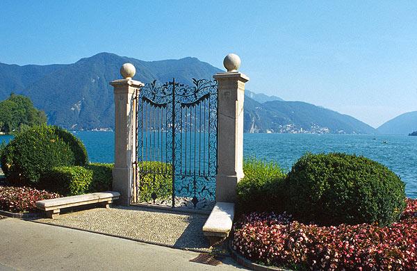 Brána k Lago di Lugano