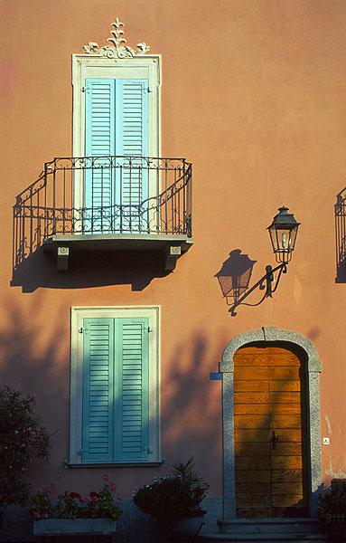 Italská architekura v Melide