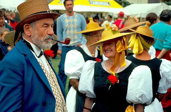 Folklórní festival v Zermattu