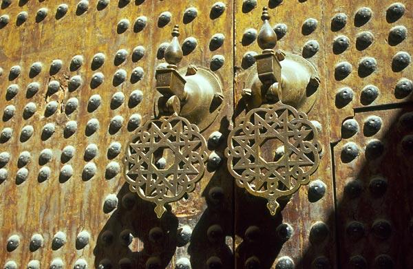 Fés el Bali, staré dveře v medině