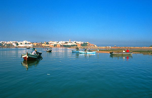 Pohled na starý Rabat