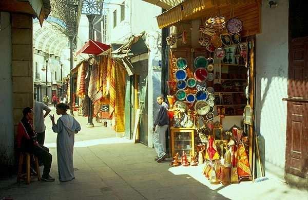Rabat, ulička v medině