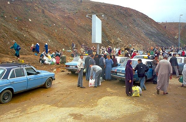 Na hraničním přechodu Ceuta