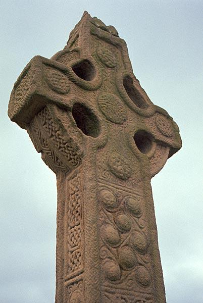 Keltský kříž, klášter Clonmacnoise