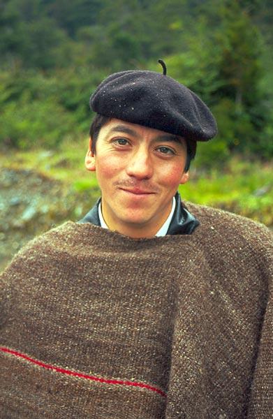 Patagonský pastevec - portrét