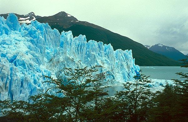 Čelní stěna ledovce Perito Moreno