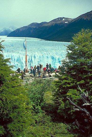 Vyhlídka na Perito Moreno