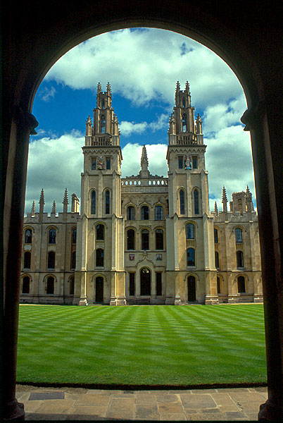 Oxford, All Souls College