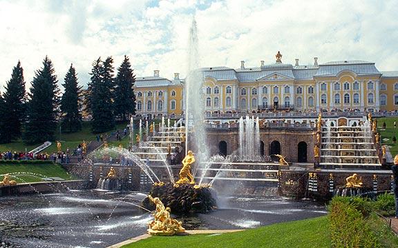 Petrodvorec - Velká Kaskáda