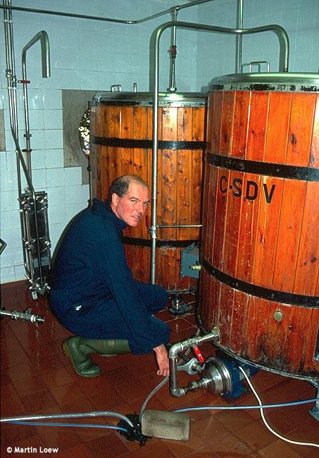 Giles Holiday v minipivovaru Wasdale Head Inn