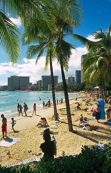 Pláž Waikiki