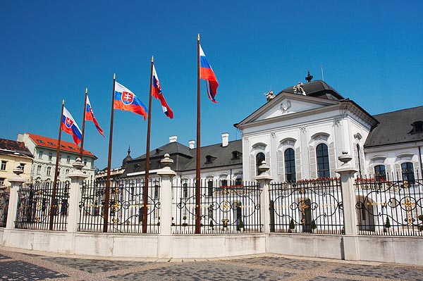 Grasalkovičov palác, sídlo prezidenta
