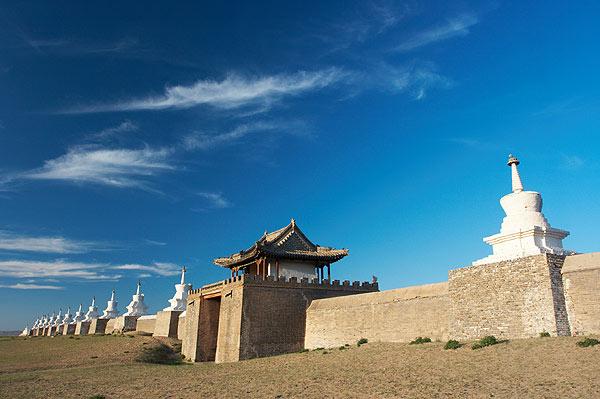 Hradby kláštera Erdenedzú