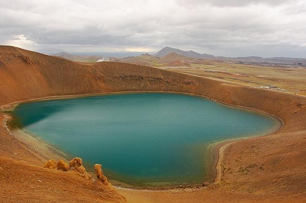 Krafla, kráter Stóra-Víti