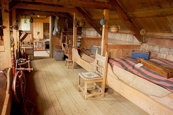 Ložnice - společná obytná místnost