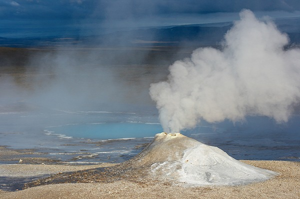 Hveravellir, parní sopka