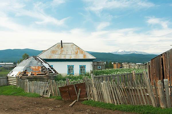 Ulagan, vesnice Altajců