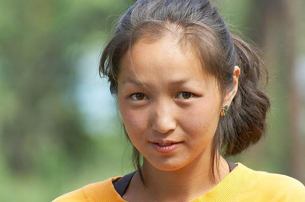 Altajská dívka