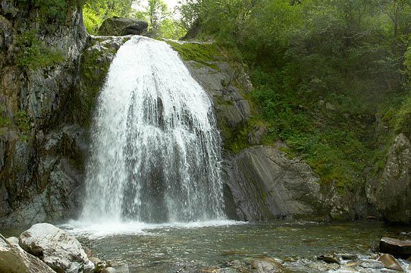 Vodopád Korbu, Tělecké jezero