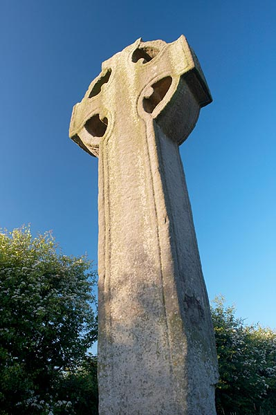 Keltský kříž v Castlekeeran
