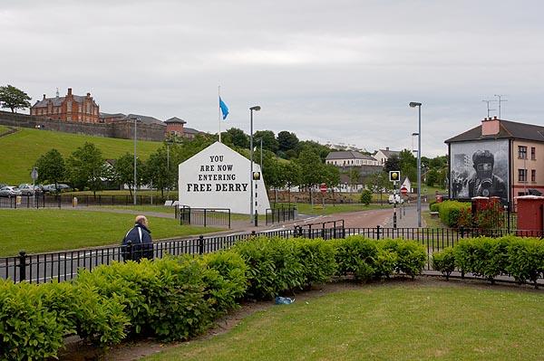 Nyní vstupujete do svobodného Derry