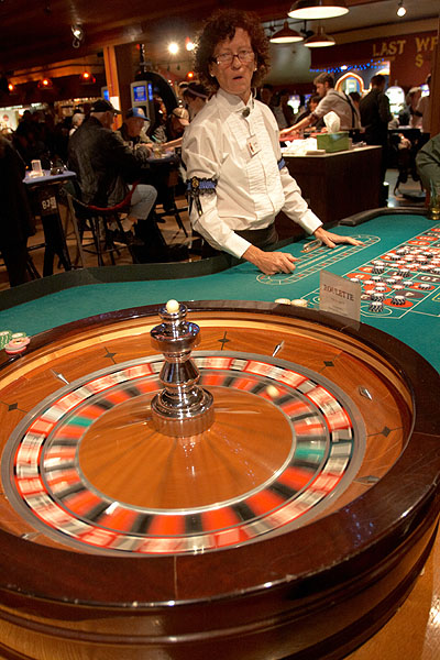 Ruleta v casinu