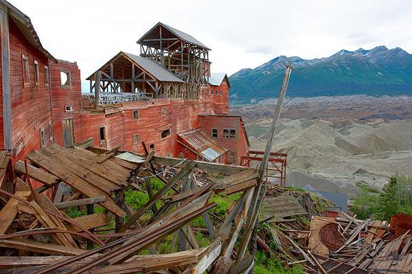 Kennecott, důl a ledovec