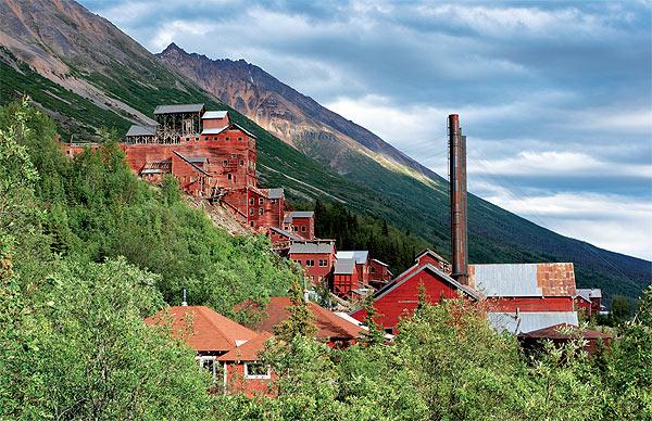 Opuštěný důl Kennecott