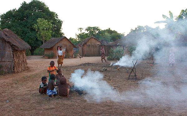 Vesnice vaří večeři