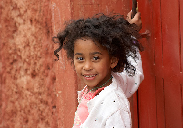 Malgašská holčička