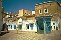 Kašna na náměstí v medině Chefchaouenu