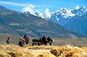 Peruánské Andy a zemědělci