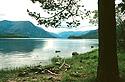 Na břehu jezera Frolicha