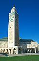 Minaret mešity krále Hassana II