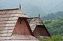 Šindelové střechy, Liptov - Vlkolínec