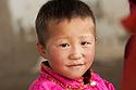 Mongolský klučina ve svátečním