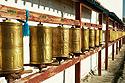 Tibetské modlitební mlýnky