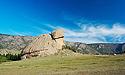 Želva - skalní formace v NP Tereldž