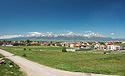 Vysoké Tatry, panorama od Popradu