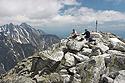 Slavkovský štít, vrchol