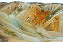 Landmannalaugar, ryolitové hory