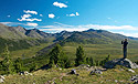 Široké altajské údolí