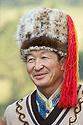 Altajský muž v národním kroji
