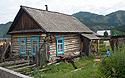Typická sibiřská chalupa